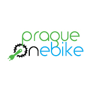 Prague on ebike logo