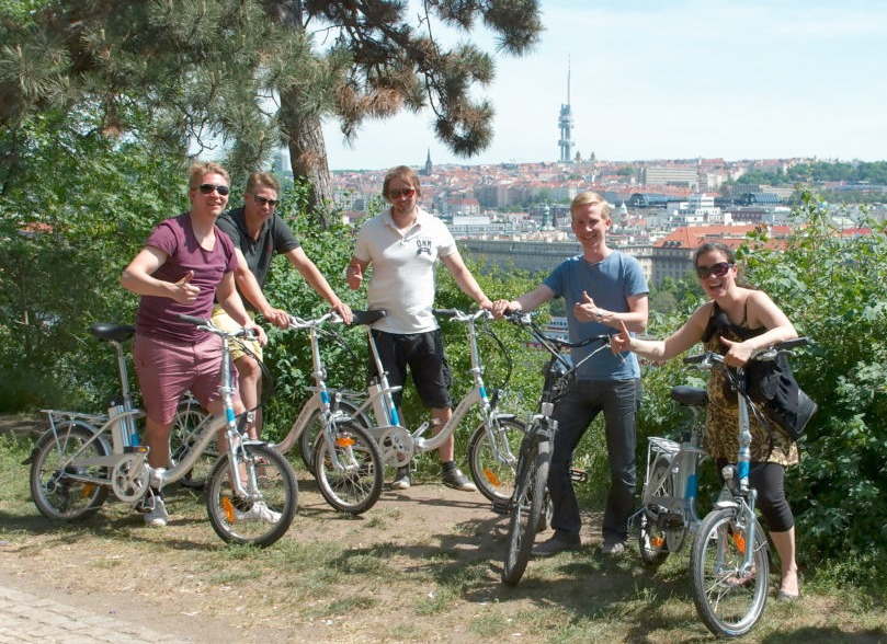 Prague on ebike