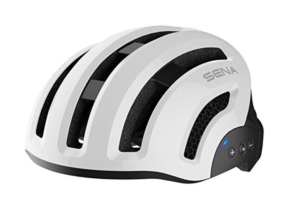 SENA - smart cycling helmet - bílá